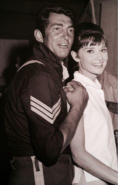 Dean Martin and Audrey Hepburn... MY TWO ABSOLUTE FAVOURITE STARS!!!(from back then)