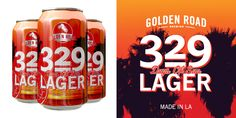 Golden Road Brewing's 329 Days Of Sun Lager