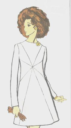 Vogue Couturier Dress Pattern 2245 Vintage 1970  by SewReallyCute, $40.00