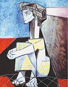 Artichive: Pablo Picasso's Jacqueline aux mains croisés http://www.dawn.com/news/1208869/artichive-jacqueline-aux-mains-croises