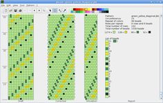 jbead - free downloadable software to use for bead crochet rope design.  This is a lovely free tool which is worth the time to learn it well.  #Bead #crochet #tool