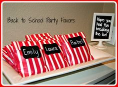 Back to School Party Ideas for an End of Summer Bash