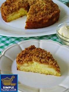 Simple home cook: Apple crumble cake