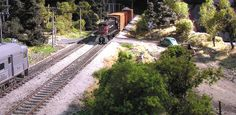 HO scale diorama wit