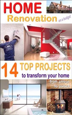 HOME RENOVATION - On A Budget: How To Transform Your Property With 14 Top Home Improvements - http://www.books-howto.com/home-renovation-on-a-budget-how-to-transform-your-property-with-14-top-home-improvements/