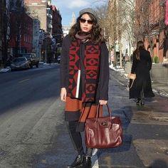 La Dolce Gia #Ootd #nycstreetstyle Mulberry, Marc Jacobs, J.Crew, Club Monoco