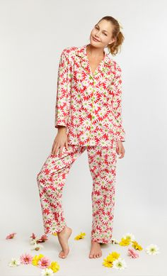 Bedhead Pajamas: Luxury Pajamas made locally from the finest cottons. BedHead Pajamas are made in the USA. Cotton Sleepwear, Cotton Pyjamas, Pajama Set, Pajama Pants, Bedhead Pajamas, Best Pajamas, Bed Head, Pj Sets, Daisy