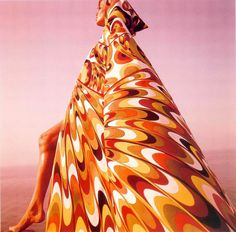 Verushka pour Emilio Pucci, 1964 - photo Henry Clarke