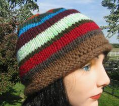 Knit Hat, Alpaca Wool Beanie for Men or Women, Jerry's hat in Twin Peaks by NorthStarAlpacas on Etsy