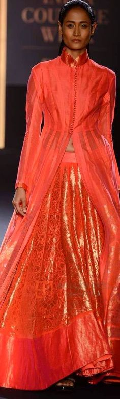 Rahul Mishra For Amazon INDIA Couture Week 2015 ♕♚εїз | BLAIR SPARKLES |