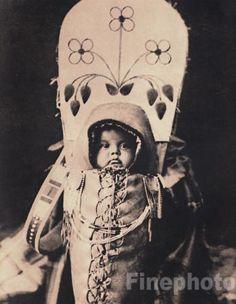 Native American fine art photography | 1900 72 Native American Indian Baby Art Edward Curtis | eBay