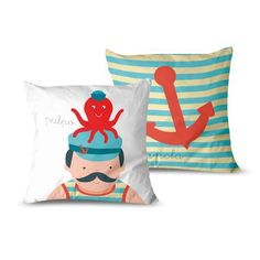 cojin-marinero Textiles, Throw Pillows, Bed, Cribs For Babies, Cushion Covers, Filing Cabinets, Cushions, Stream Bed, Beds
