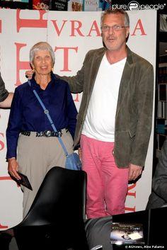 """D. Suzanne mãe de Pedro Bial no lançamento de """"O filho do Holocausto"""""""