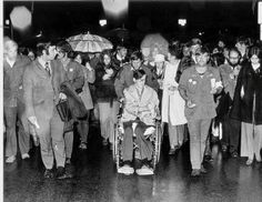 Kent State University student Dean Kahler, who was paralyzed from the waist down by a National Guardsmans bullet on May 4, leads a candlelight procession in Sept 1970. (Don Roese/Akron Beacon Journal file photo). Dean Kahler was a member of the pacifist Church of the Brethren. He was against the war in Vietnam, in fact, any war. He was simply a first-quarter freshman, straight off the farm, who wanted to see what went on at a student demonstration. May 4, 1970, was his first anti-war rally.