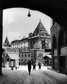 St. Moritz, 1947 | LIFE in Postwar St. Moritz