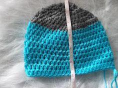 Crocheting a properly sized hat