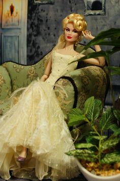 fashion doll, beautiful dress