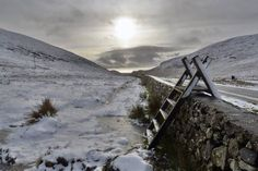 This was the picturesque scene on the Mourne Mountains yesterday, 10/01/2016, as the latest cold snap bit - and there could be more snow to come.  Temperatures plummeted over the weekend, leading to a touch of snow on higher ground and there are some more wintry showers forecast for later in the week.