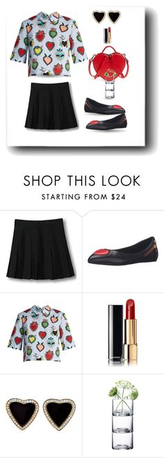 """Untitled #596"" by susans-sg ❤ liked on Polyvore featuring WithChic, Love Moschino, Marc Jacobs, House of Holland, Chanel and Monika Lubkowska-Jonas"