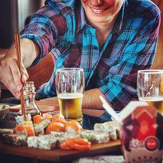 Cualquier día de la semana puede ser único! Sushi POP #momentosúnicos