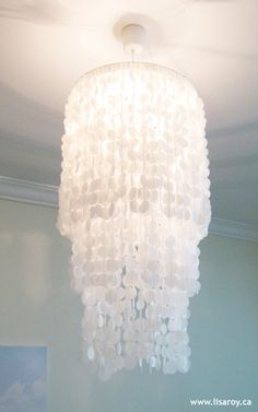 DIY chandelie