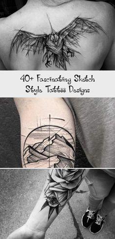 #minimaltattoomodels Glyph Tattoo, Cat Tattoo, Couple Tattoos, Tattoos For Guys, Sketch Style Tattoos, Mountain Tattoo Design, Best Tattoo Ever, Shoulder Tattoos For Women, Bird Skull