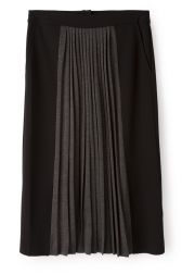 Nice Things Pleated Skirt - Black