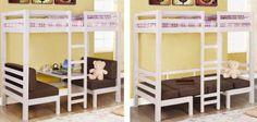 Wonderful idea for bunk-beds
