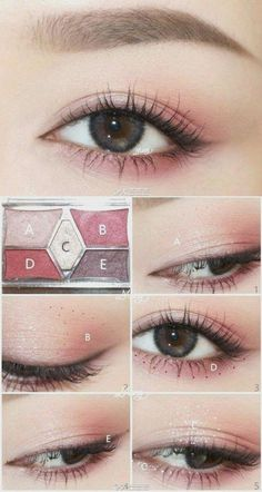 Korean makeup tutorials, Apply lotion soon after shaving to find the best effect.Dried-out skin might cause ingrown hairs, and daily use of lotion hel - SKIN CARE/ MAKE-UP - Makeup Nerd Makeup, Makeup Inspo, Makeup Inspiration, Beauty Makeup, Makeup Ideas, Beauty Box, Ullzang Makeup, Makeup Eyeshadow, Makeup Brushes