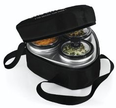 Amazon.com: Crock-Pot SCRMTD307-DK 16-Ounce Little Triple Dipper, Silver and Black: Kitchen & Dining