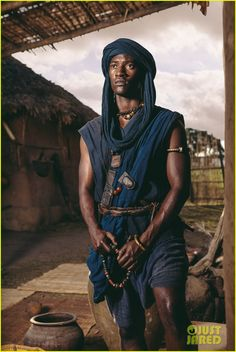 """Kunta Kinte"" from the 2016 mini-series ""Roots"" Mankundi of Gambia."