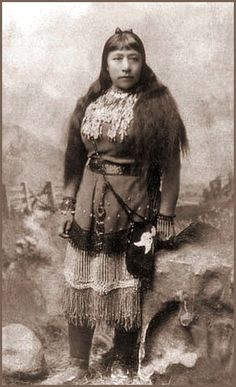 Sarah Winnemucca was born in 1842 the daughter of Chief Winnemucca, leader of the Paiutes, a tribe native to   Nevada and California. As a child, Sarah lost many family members in the Paiute War of 1860, doing much to mold her into the peacemaker she became. She is often remembered as a champion of the rights of indigenous peoples. Sarah spent her life working toward obtaining the return of tribal lands to their native people.