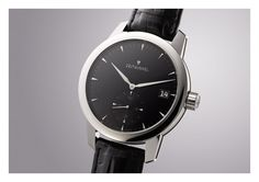 The Zeitwinkel black Form, Omega Watch, Watches, Leather, Accessories, Black, Classic, Black People, Clocks