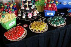 {So Wonderful, So Marvelous}: Super Mario Party Super Mario Bros, Super Mario Birthday, Mario Birthday Party, Super Mario Party, Birthday Fun, Birthday Parties, Birthday Ideas, Mario Y Luigi