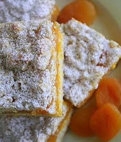 Apricot Bars (dried apricots, apricot preserves)