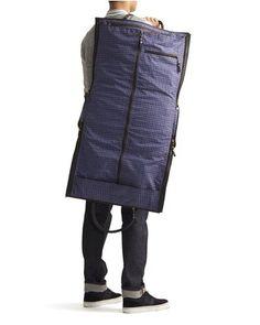 Saffiano Weekender Garment Bag - The British Belt Company - Bags : JackThreads