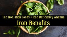 Top Iron-Rich Foods + Iron Deficiency Anemia & Iron Benefits