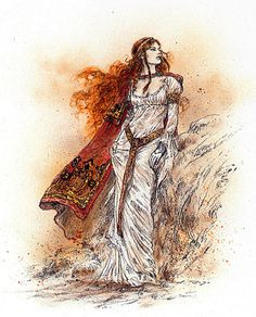 The Wind from Hastings Sketch 1 by Luis Royo