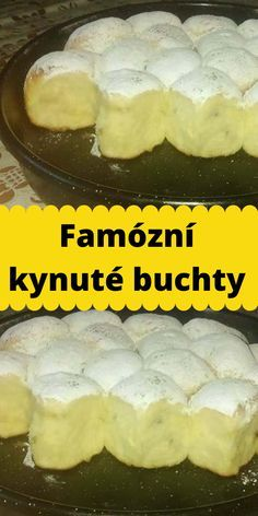 Famózní kynuté buchty European Dishes, Luxury Food, Czech Recipes, Ham, Camembert Cheese, Food To Make, Deserts, Food And Drink, Homemade
