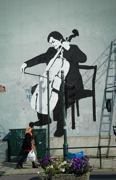 Cellist by Frank Trana, via Flickr
