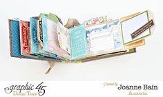 Children's Hour mini album by Joanne #graphic45