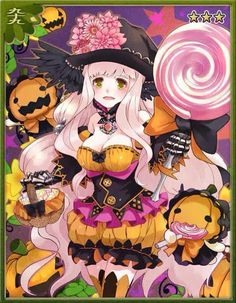 Ayakashi Ghost Guild - Starla (Halloween)