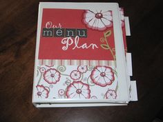 Another good idea for how to menu plan. I like how clean hers looks and the documents she put together