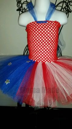 fd1c5ba24 4th of July Tutu Dress American Flag Tutu Dress Red white and blue tutu  dress,patriotic tutu dress,