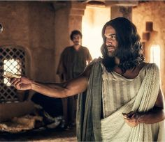 """Juan Pablo Di Pace as Jesus in the upcoming 2015 TV movie, """"A.D."""" from the producers of """"The Bible"""" mini-series."""