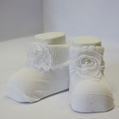 calzini nascita neonato bianco fiocco bianco blu
