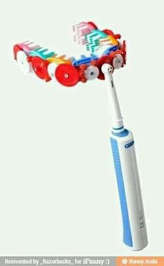 This would take like 1 minute to clean your teeth but how would you clean the back other places besides the front