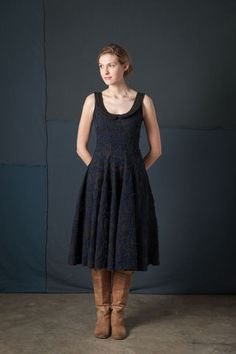 Alabama Chanin hand sewn dress....I have been crushing on them since I read their DIY sewing book years ago. So gorgeous.