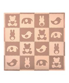 Look what I found on #zulily! Tadpoles Brown Teddy & Friends Playmat Set by Tadpoles #zulilyfinds
