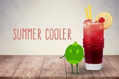 Cocktails für Kinder: Summer Cooler